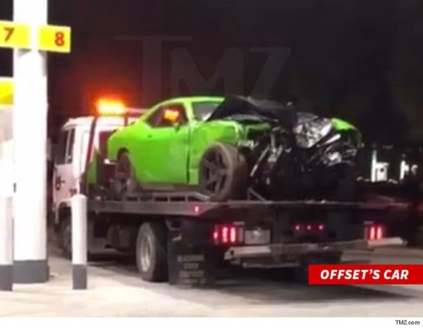 "Offset ""expected to be ok"" after reported car crash"